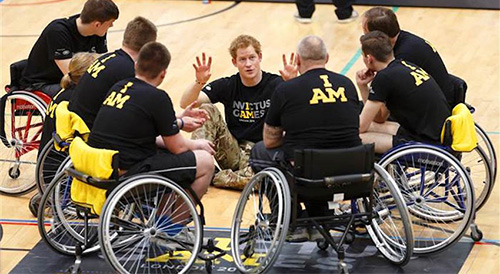 The Invictus Games Simon Webster